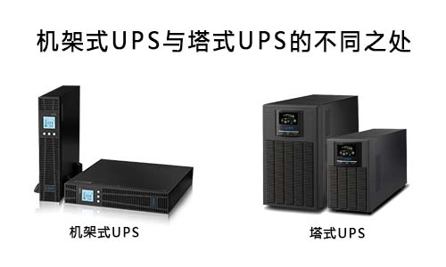 <b>存能电气机架式UPS与塔式UPS的区别在哪里?</b>